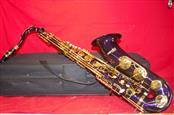 MENDINI Purple Blue Saxophone + Case + Accessories